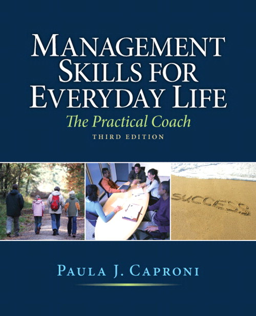 Management Skills for Everyday Life, CourseSmart eTextbook, 3rd Edition