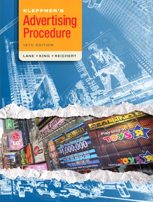 Kleppner's Advertising Procedure, CourseSmart eTextbook, 18th Edition