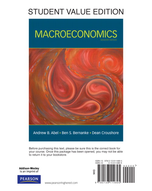 Macroeconomics, Student Value Edition, 7th Edition