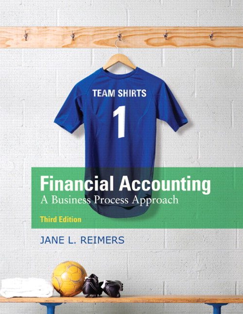 Financial Accounting: A Business Process Approach, CourseSmart eTextbook, 3rd Edition