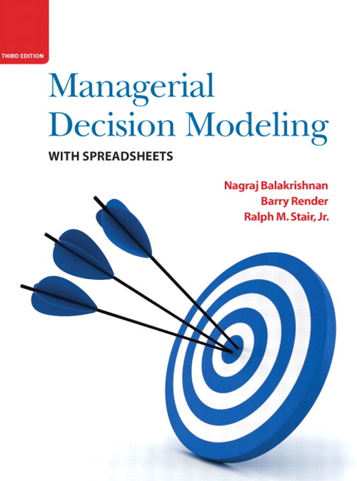 Managerial Decision Modeling, CourseSmart eTextbook, 3rd Edition