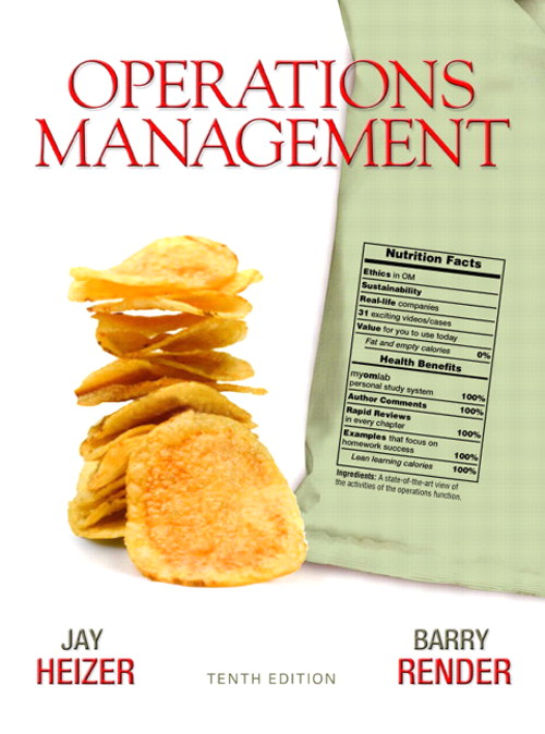 Operations Management, 10th Edition