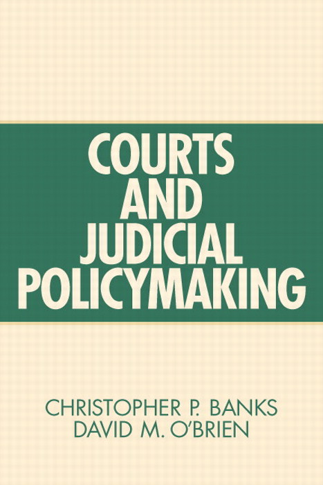 Courts and Judicial Policymaking, CourseSmart eTextbook