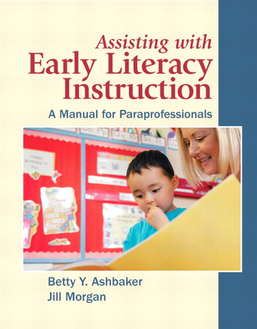 Assisting with Early Literacy Instruction: A Manual for Paraprofessionals, CourseSmart eTextbook