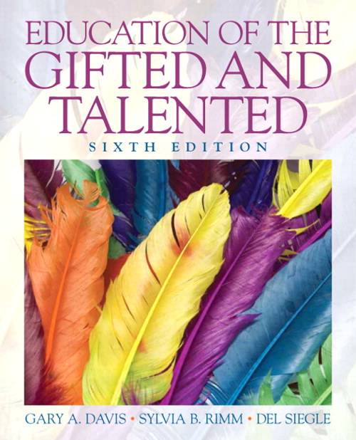 Education of the Gifted and Talented, CourseSmart eTextbook, 6th Edition