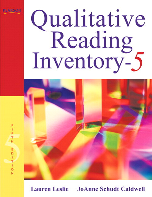 Qualitative Reading Inventory-5, CourseSmart eTextbook, 5th Edition