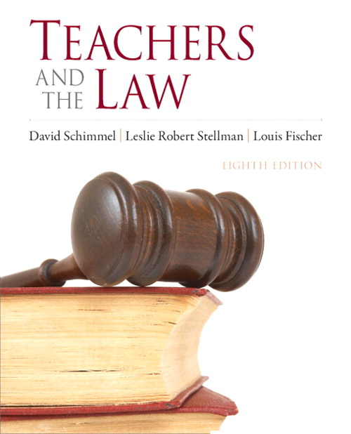 Teachers and the Law, CourseSmart eTextbook, 8th Edition