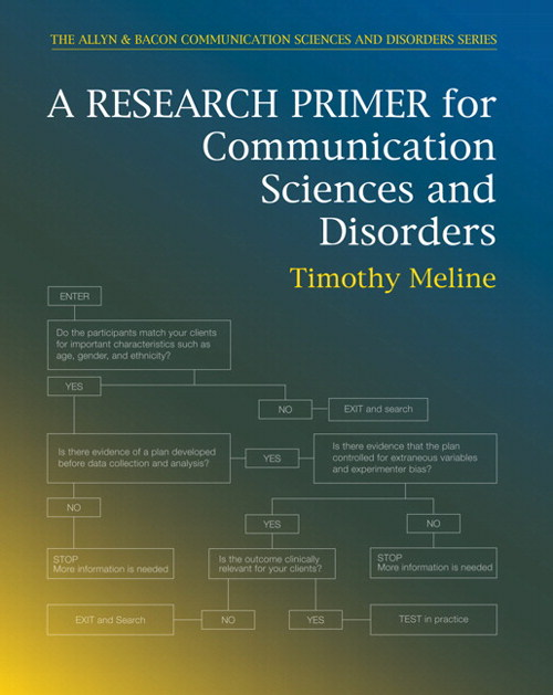 Research Primer for Communication Sciences and Disorders, A, CourseSmart eTextbook