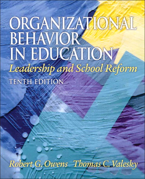 Organizational Behavior in Education: Leadership and School Reform, CourseSmart eTextbook, 10th Edition