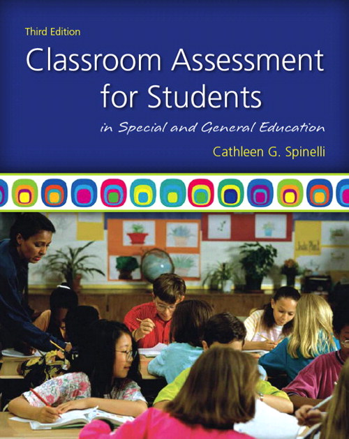 Classroom Assessment for Students in Special and General Education, CourseSmart eTextbook, 3rd Edition