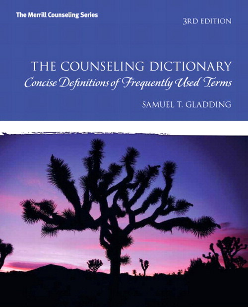 Counseling Dictionary, The: Concise Definitions of Frequently Used Terms, CourseSmart eTextbook, 3rd Edition