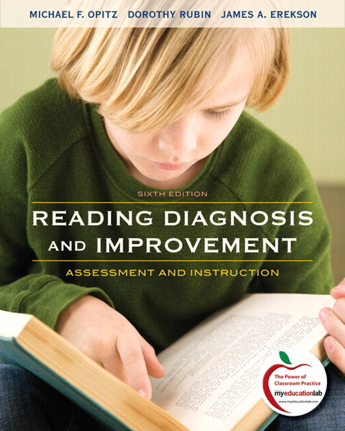 Reading Diagnosis and Improvement: Assessment and Instruction, CourseSmart eTextbook, 6th Edition
