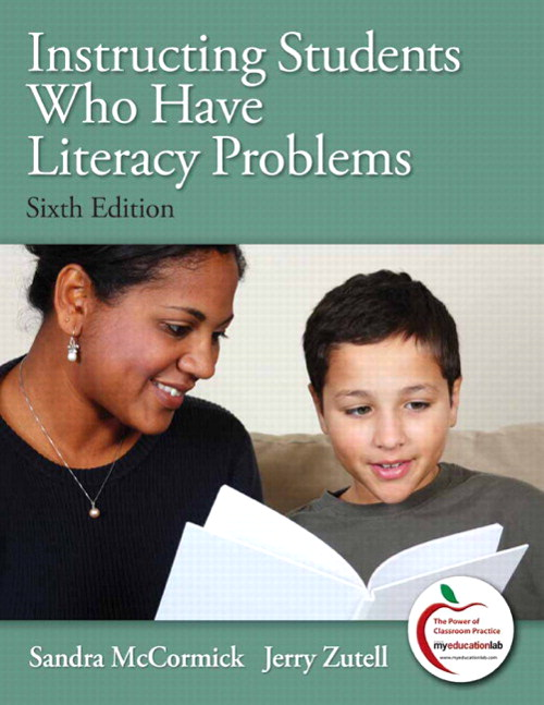 Instructing Students Who Have Literacy Problems, CourseSmart eTextbook, 6th Edition