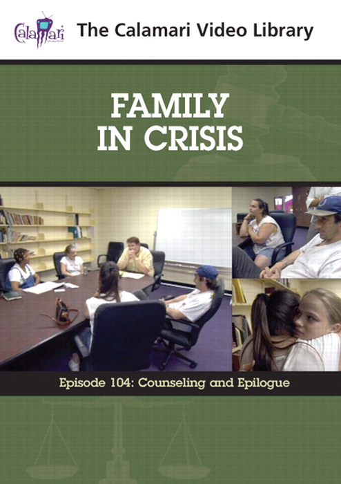 Family In Crisis Series #4: Counseling and Epilogue