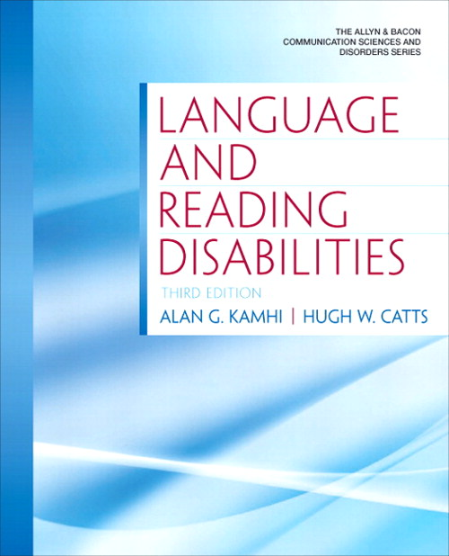 Language and Reading Disabilities, CourseSmart eTextbook, 3rd Edition