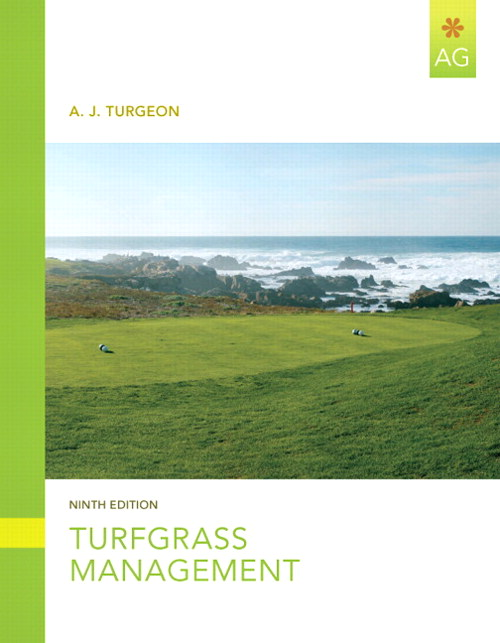 Turfgrass Management, CourseSmart eTextbook, 9th Edition