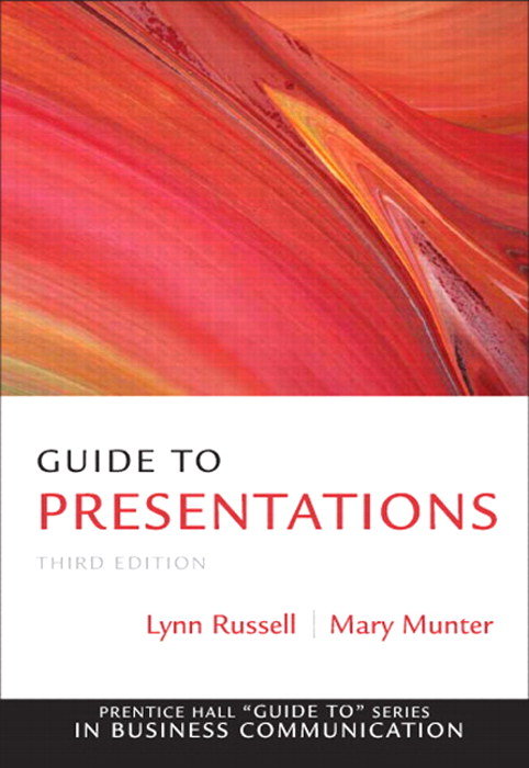 Guide to Presentations, CourseSmart eTextbook, 3rd Edition