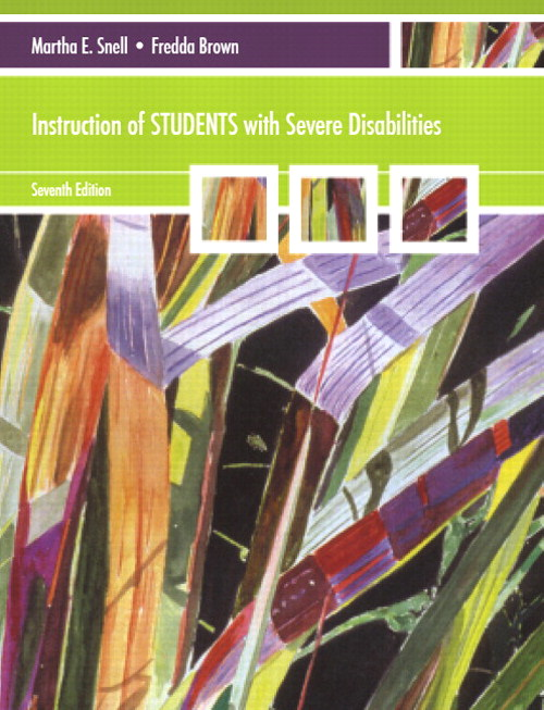 Instruction of Students with Severe Disabilities, CourseSmart eTextbook, 7th Edition
