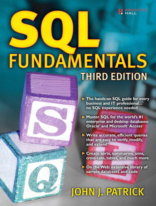 SQL Fundamentals, CourseSmart eTextbook, 3rd Edition