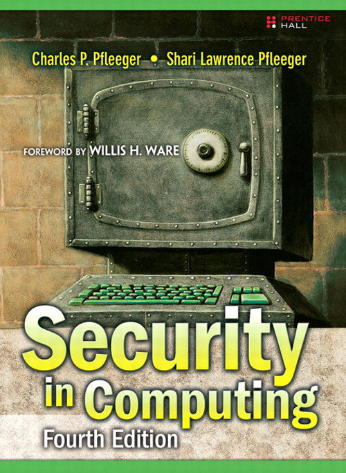 Security in Computing, CourseSmart eTextbook, 4th Edition