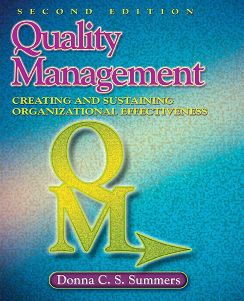 Quality Management, CourseSmart eTextbook, 2nd Edition