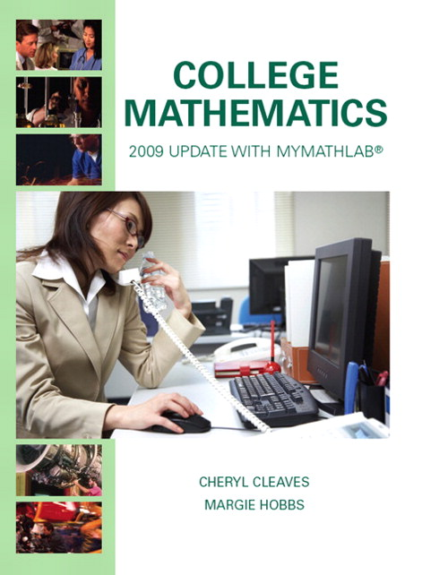 College Mathematics: 2009 Update, CourseSmart eTextbook, 8th Edition