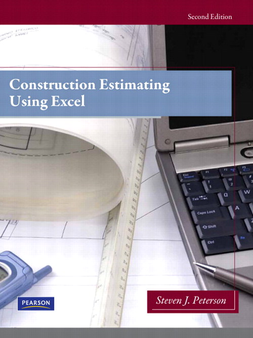 Construction Estimating Using Excel, CourseSmart eTextbook, 2nd Edition
