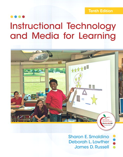 Instructional Technology and Media for Learning,  CourseSmart eTextbook, 10th Edition
