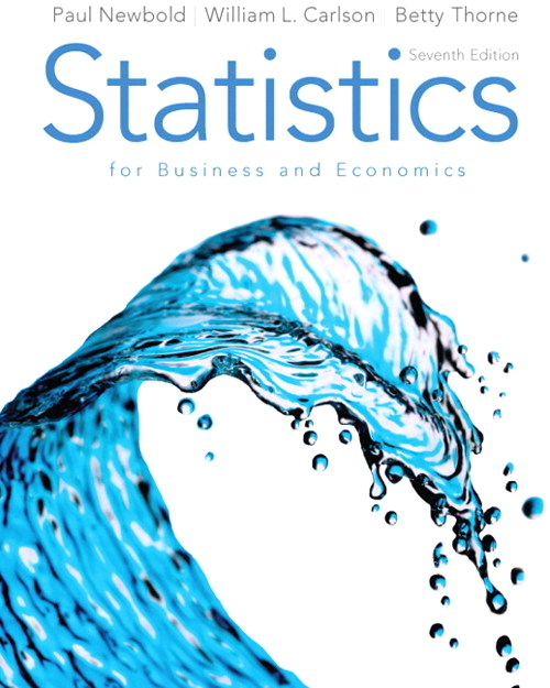 Statistics for Business and Economics & MathXL Student Access Card Package, 7th Edition