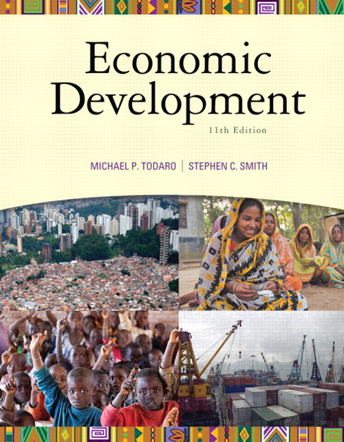 Economic Development, CourseSmart eTextbook, 11th Edition