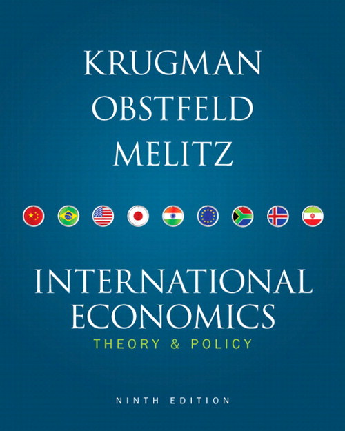 International Economics: Theory and Policy , CourseSmart eTextbook, 9th Edition