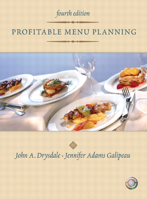 Profitable Menu Planning Value Package (includes ManageFirst: Menu Marketing and Management with Pencil/Paper Exam), 4th Edition