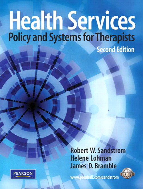 Health Services: Policy and Systems for Therapists, CourseSmart eTextbook, 2nd Edition