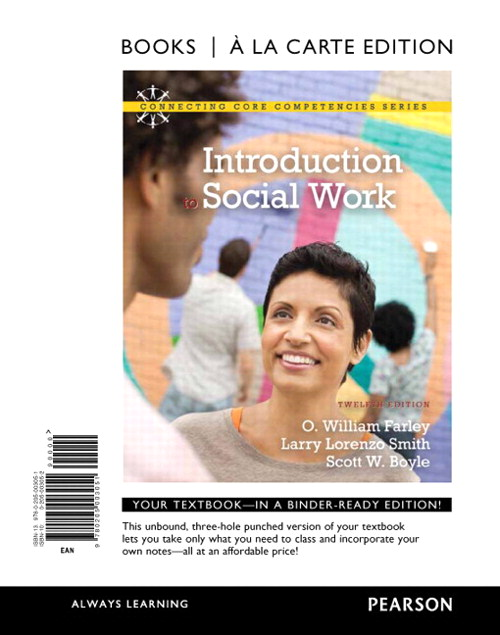 Introduction to Social Work, Books a la Carte Edition, 12th Edition