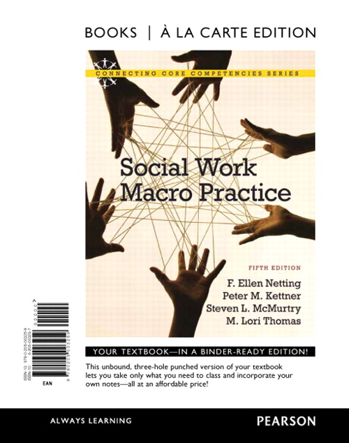 Social Work Macro Practice, Books a la Carte Edition, 5th Edition