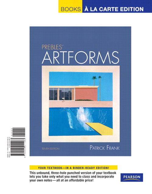 Prebles' Artforms, Books a la Carte Edition, 10th Edition