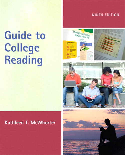 Guide to College Reading, CourseSmart eTextbook, 9th Edition