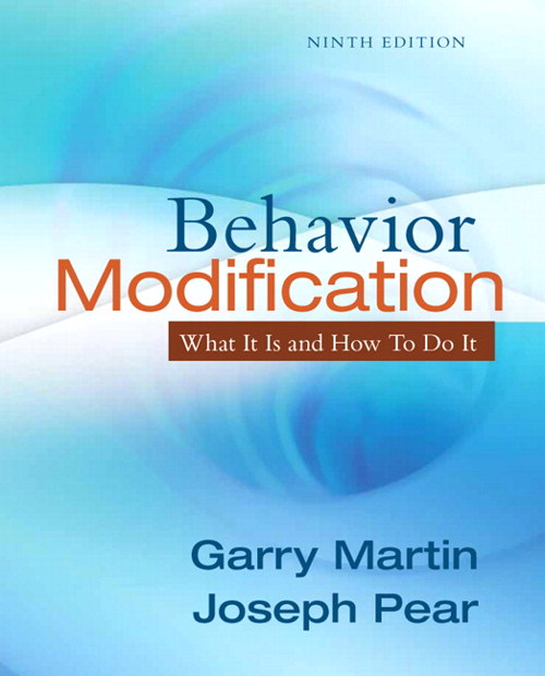 Behavior Modification: What It Is and How To Do It, CourseSmart eTextbook, 9th Edition