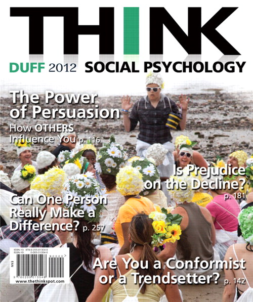 THINK Social Psychology 2012 Edition, CourseSmart eTextbook