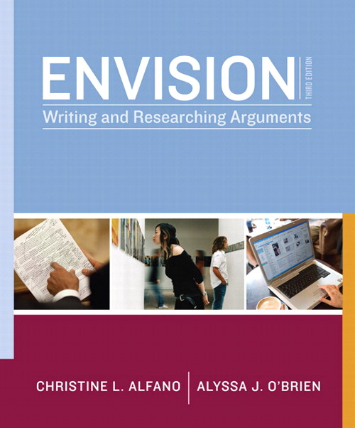 Envision: Writing and Researching Arguments,  CourseSmart eTextbook, 3rd Edition