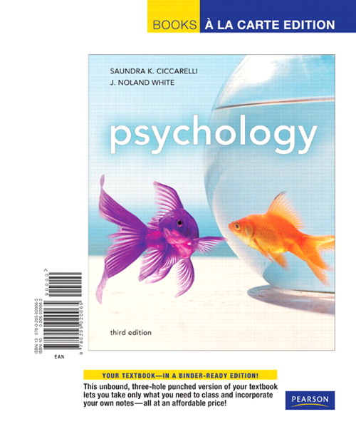 Psychology, Books a La Carte Edition, 3rd Edition