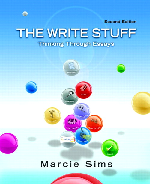 Write Stuff: Thinking Through Essays, The, CourseSmart eTextbook, 2nd Edition