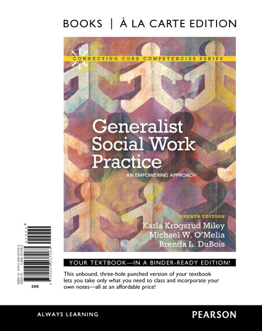 Generalist Social Work Practice: An Empowering Approach, Books a la Carte Edition, 7th Edition