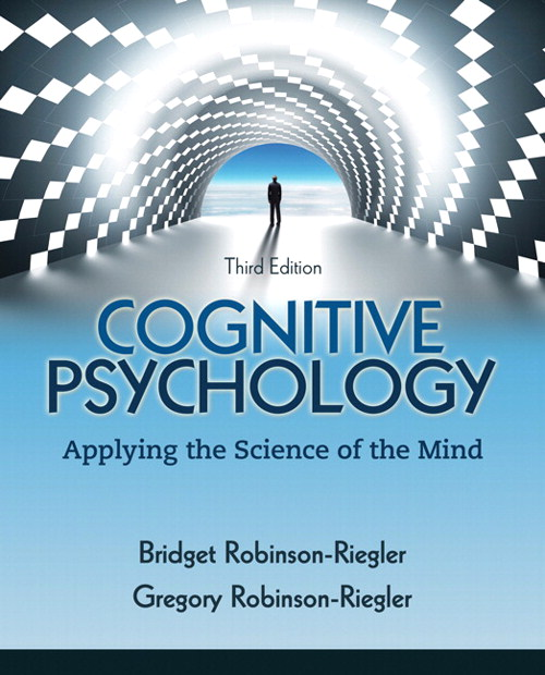 Cognitive Psychology: Applying the Science of the Mind, CourseSmart eTextbook, 3rd Edition