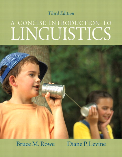 Concise Introduction to Linguistics, A, CourseSmart eTextbook, 3rd Edition