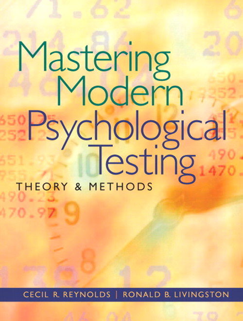 Mastering Modern Psychological Testing: Theory & Methods, CourseSmart eTextbook