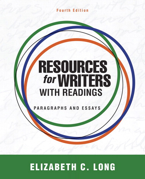 Resources for Writers with Readings, CourseSmart eTextbook, 4th Edition