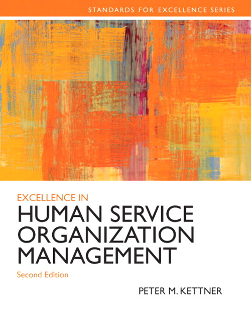 Excellence in Human Service Organization Management, CourseSmart eTextbook, 2nd Edition