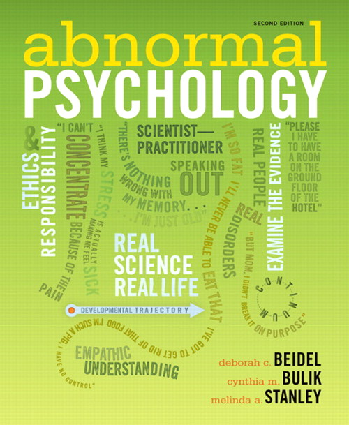 Abnormal Psychology, CourseSmart eTextbook, 2nd Edition