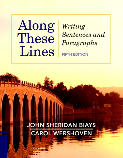 Along These Lines: Writing Sentences and Paragraphs, courseSmart eTextbook, 5th Edition